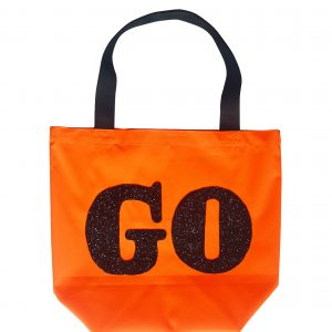 GO Bag, Black Glitter
