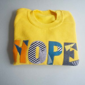 HOPE Crew Top, Yellow