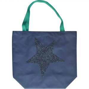 Star Bag, Navy Blue