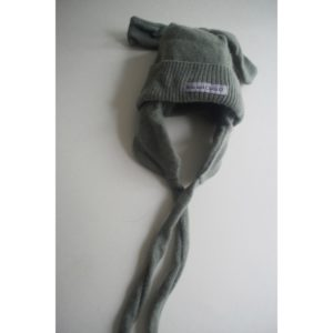 Cashmere King Trapper hat – Moss Green