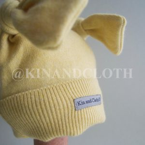 Cashmere King Bunny Hat