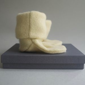 Cashmere King Socks/Bootie – Yellow